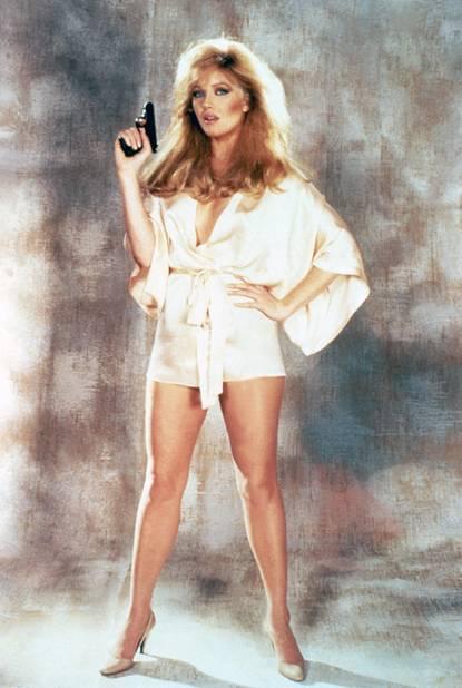 Dangereusement Vôtre, voici Tanya Roberts en 1985