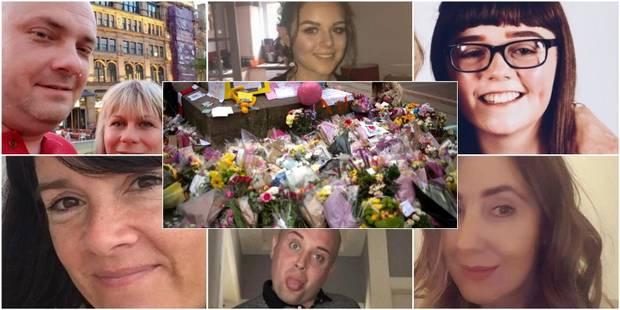 Saffie Rose, Georgina, John, Lisa, Angelika et Marcin... Qui sont les victimes de l'attentat à Manchester déjà identifié...
