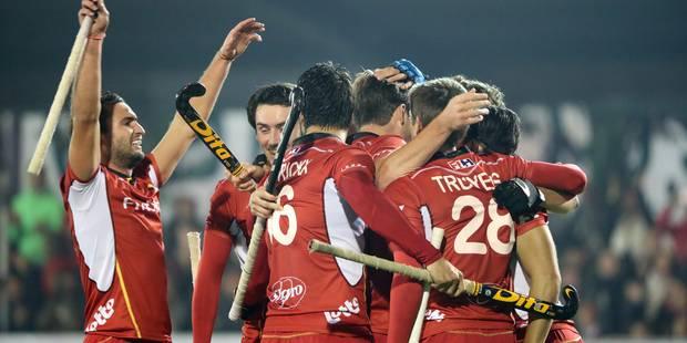 Les Red Lions s'imposent une nouvelle fois contre l'Espagne en préparation - La Libre