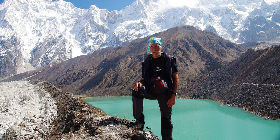 Vincent Fonvieille : la montagne, son bureau - La Libre