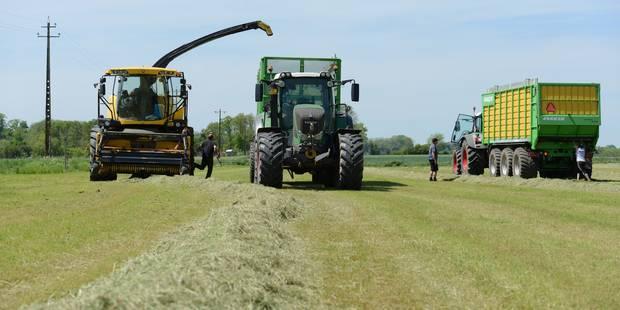 Des aides pour les agriculteurs à sec - La Libre