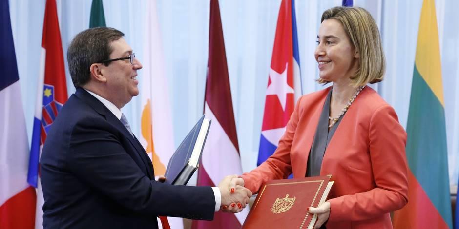Feu vert au premier accord UE-Cuba