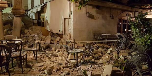 """Séisme près de Bodrum: Deux morts sur l'île de Kos (Grèce), """"pas de Belges parmi les blessés sur l'île de Kos"""" - La Libr..."""