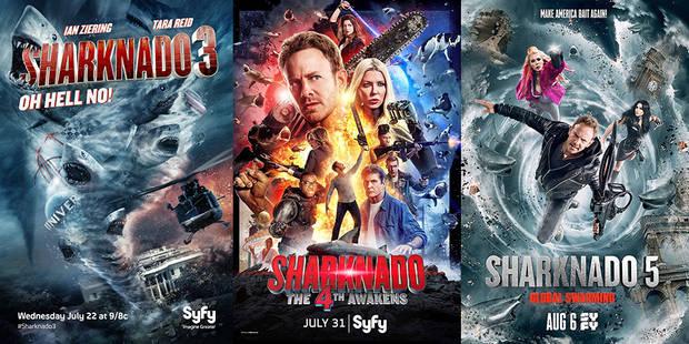 Sharknado : le succès inespéré des tornades de requins tueurs - La Libre
