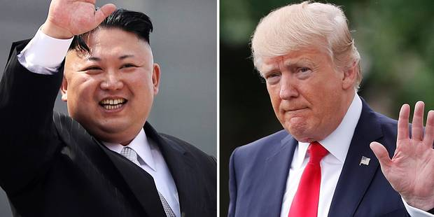 """Corée du Nord : Trump se dit prêt à frapper, Pyongyang évoque une """"guerre nucléaire"""" - La Libre"""