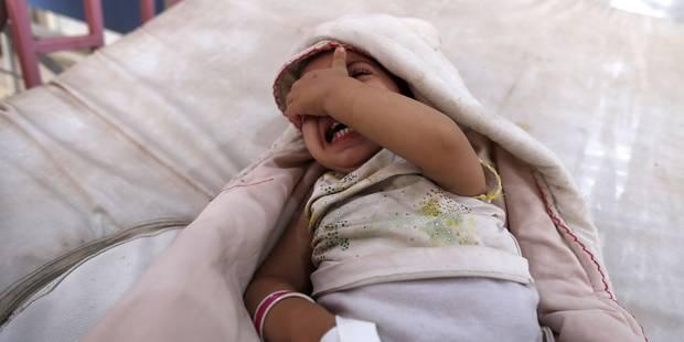 Chaque jour, cinq mille nouveaux cas de choléra au Yémen - La Libre