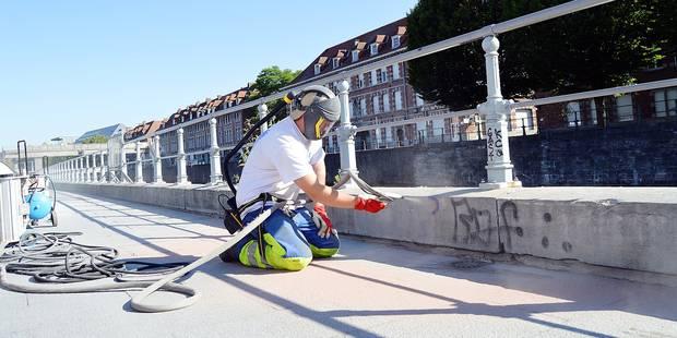 Tournai: 1.110 tags effacés en deux ans - La Libre
