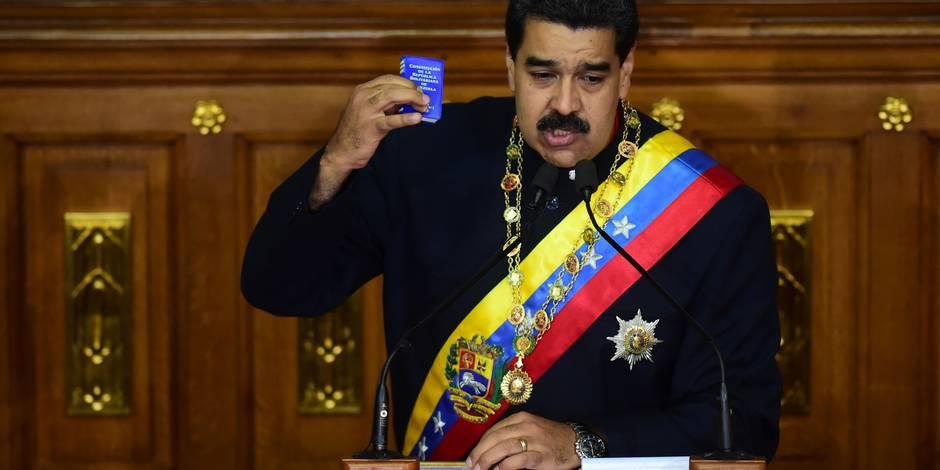 Sanctions américaines: Caracas dénonce la