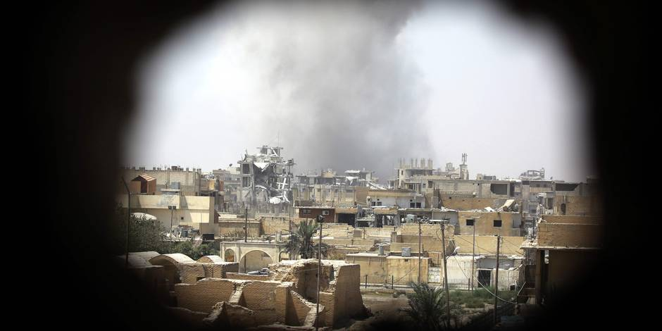 Les Forces démocratiques syriennes prennent la vieille ville de Raqqa — Daech