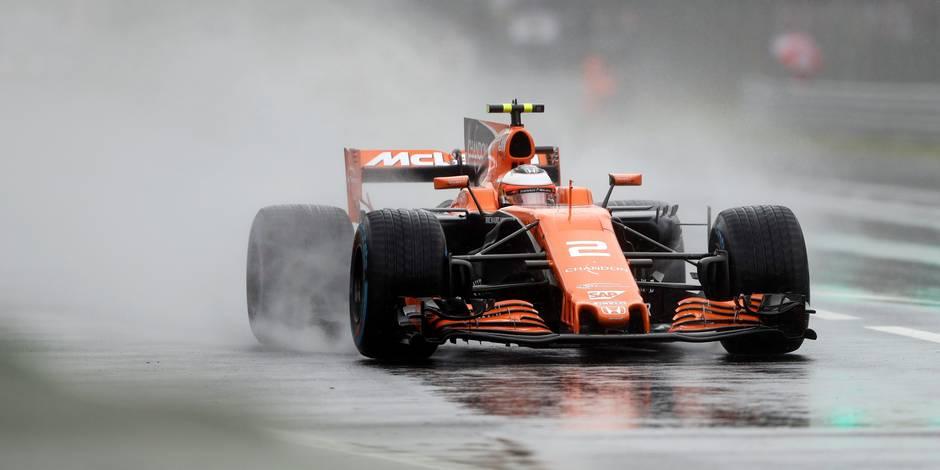 Vandoorne recule en fond de grille à Monza