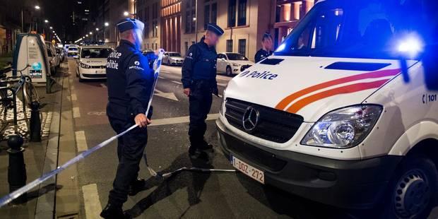 Hicham Diop avait poignardé deux policiers, à Schaerbeek - La Libre