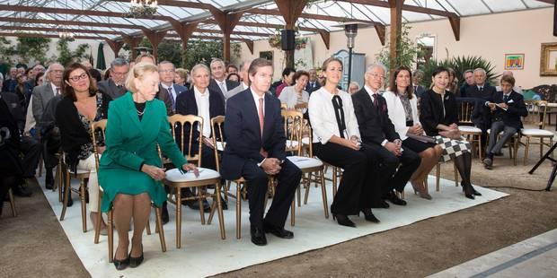 20e anniversaire de la fondation Prince Laurent à La Hulpe ce samedi soir: la princesse Claire et les enfants présents m...