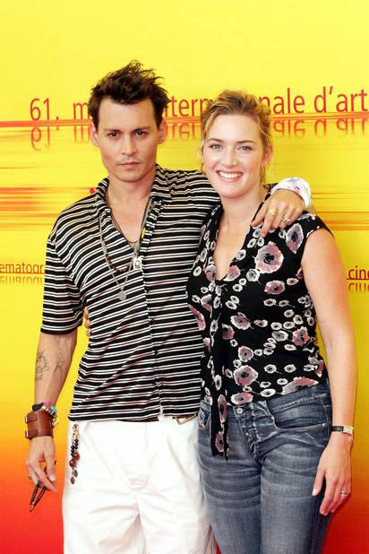 En 2004, avec Johnny Depp, au Mostra Film Festival, pour la promotion du film Neverland dans lequel elle incarne une veuve et pour lequel elle reçoit un BAFTA.