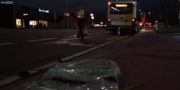 Douze blessés dont un grave dans une collision entre deux bus De Lijn à Hasselt - La Libre