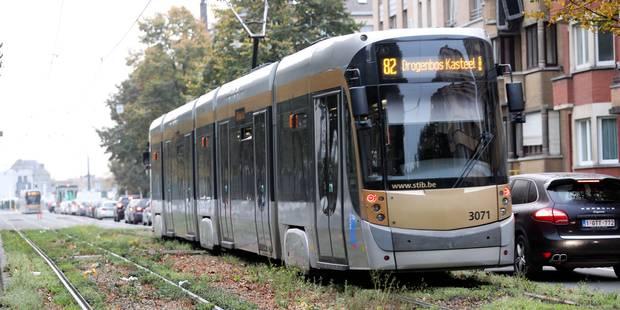 Un conducteur de tram privé de permis toujours actif à la Stib - La Libre