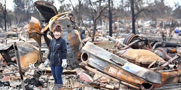 Plus de 8.400 habitations et bâtiments détruits par les flammes en Californie - La Libre