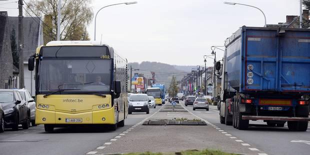 Namur: les riverains pourront contrôler le chantier de la bande bus à Bouge - La Libre