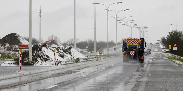 Fin de la pré-alerte routière en Wallonie, fermetures temporaires de tunnels à Bruxelles - La Libre