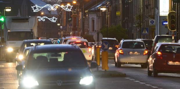 Gros ralentissements en plein coeur de Bruxelles ce mercredi en fin de journée: une manifestation en cause - La Libre