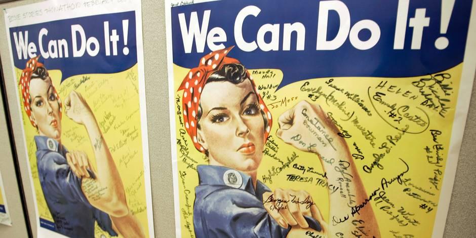 L'Américaine ayant inspiré l'affiche féministe