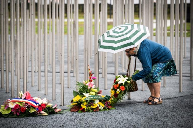 Hommage aux victimes de l'explosion de l'usine chimique AZF? le 21 septembre 2021 à Toulouse