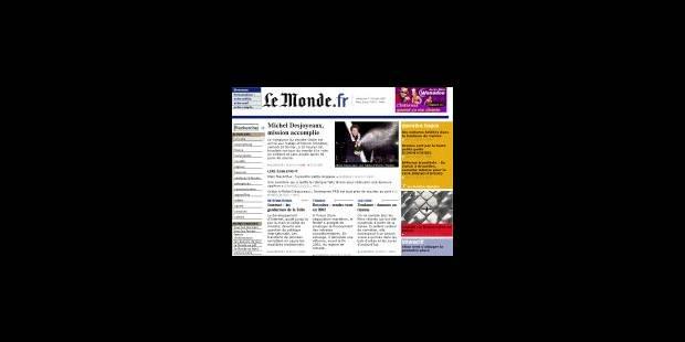 Maître du Monde.fr - La Libre