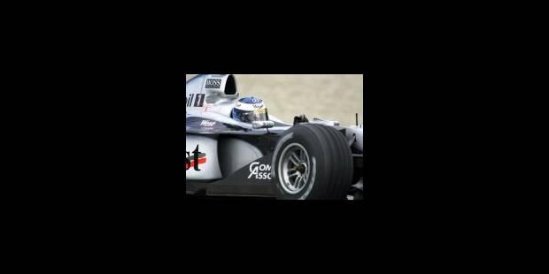 McLaren-Mercedes: la nouvelle flèche d'argent tourne déjà - La Libre
