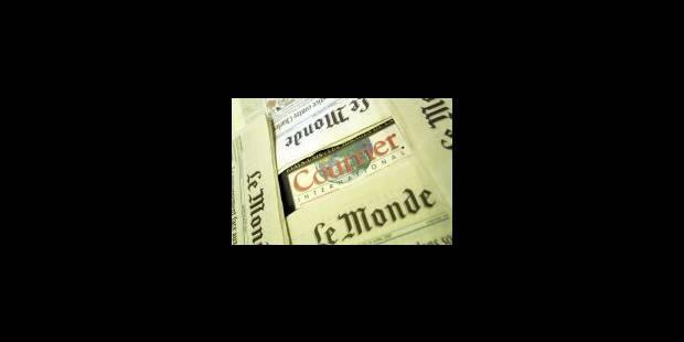 Un «Courrier» au «Monde» - La Libre