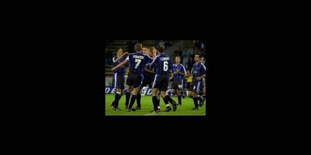 Le FC Bruges a un objectif simple: devenir champion