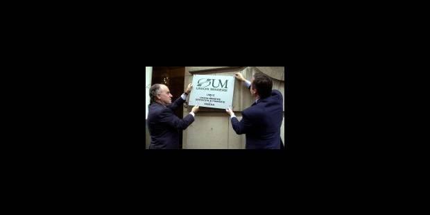 Union Minière rebaptisée Umicore - La Libre