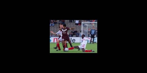 Le Standard battu à Bordeaux - La Libre
