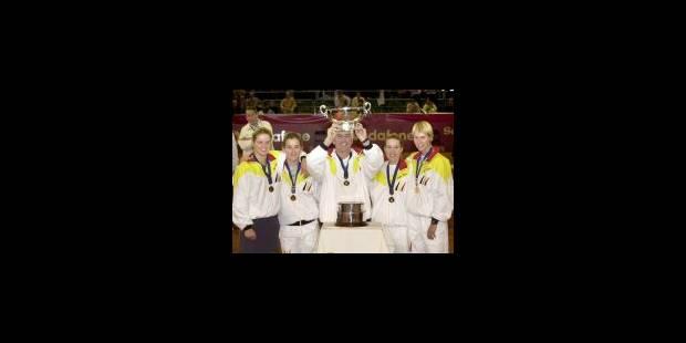Une petite Fed Cup, un grand titre de champion du monde - La Libre