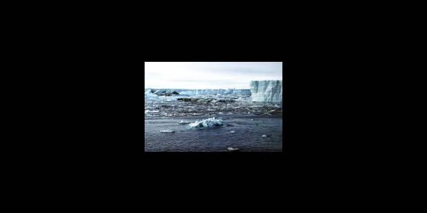 Effondrement massif dans l'Antarctique