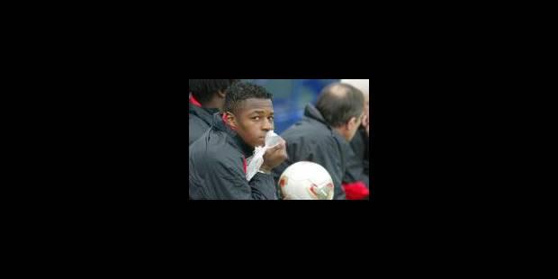 Emile Mpenza absent du Mondial