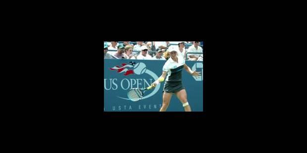 Kim Clijsters en roue libre