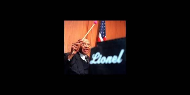 Décès de Lionel Hampton, le roi du vibraphone et du swing - La Libre