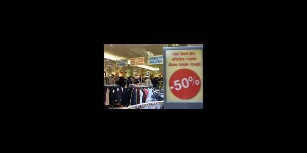Soldes : vers la fin de la transparence des prix ? - La Libre