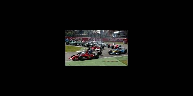 La marée rouge à Monza - La Libre