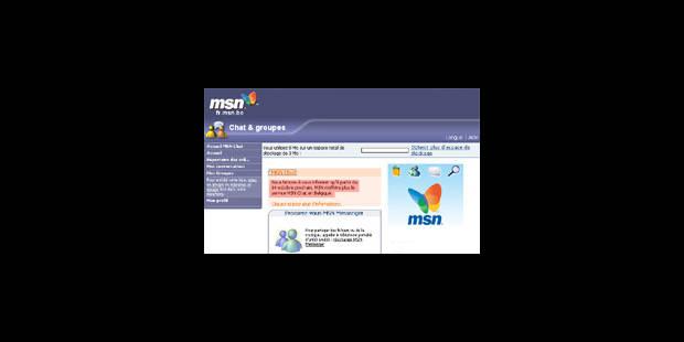 Fin de parcours pour le forum de MSN - La Libre