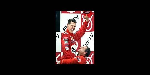 Schumacher, un champion, pas un mythe - La Libre