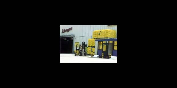 Schweppes Cadbury va fermer une usine sur cinq - La Libre