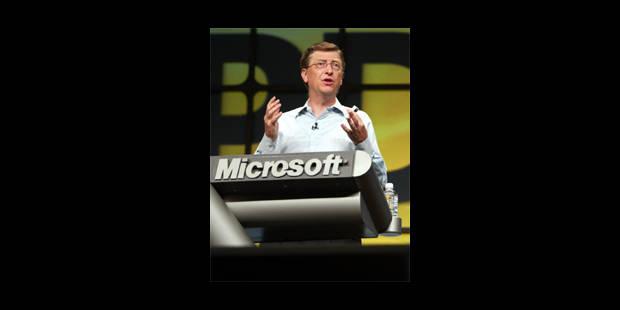Microsoft: trois jours pour convaincre - La Libre