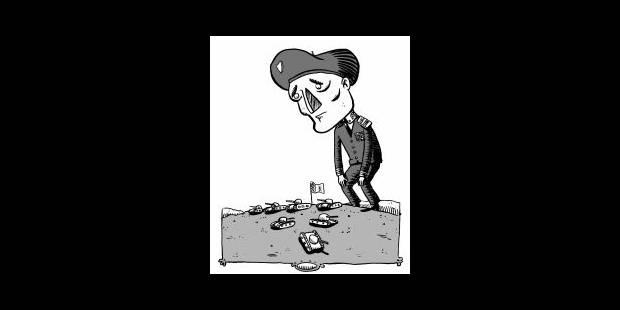 L'inexorable déstructuration de l'armée - La Libre