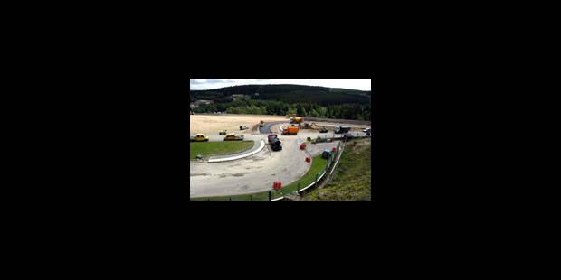 Francorchamps en fin de chantier - La Libre