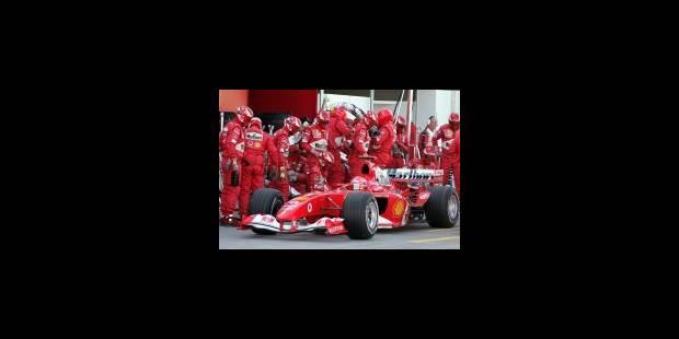 Le typhon... Schumacher - La Libre