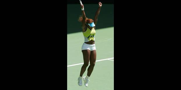 Serena en toute sérénité
