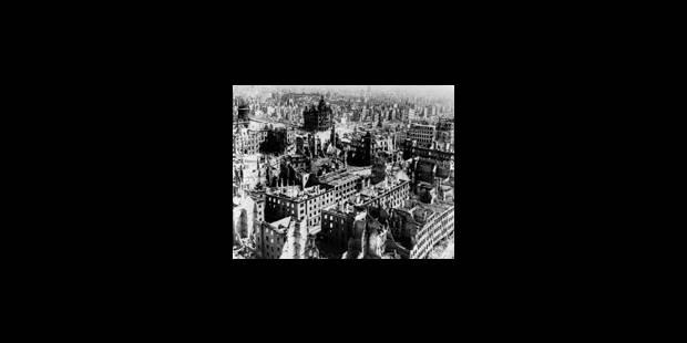 Dresde, commémoration et exploitation