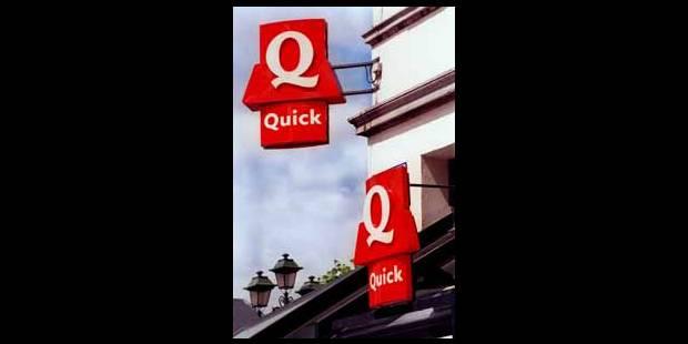 Bonne reprise pour Quick - La Libre