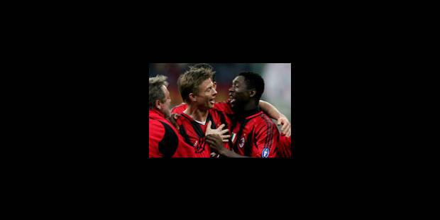 Le Milan AC prend une option sur la finale