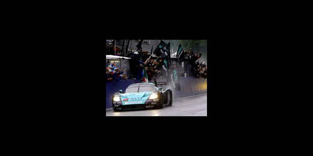 Victoire de la Maserati de Van de Poele - La Libre